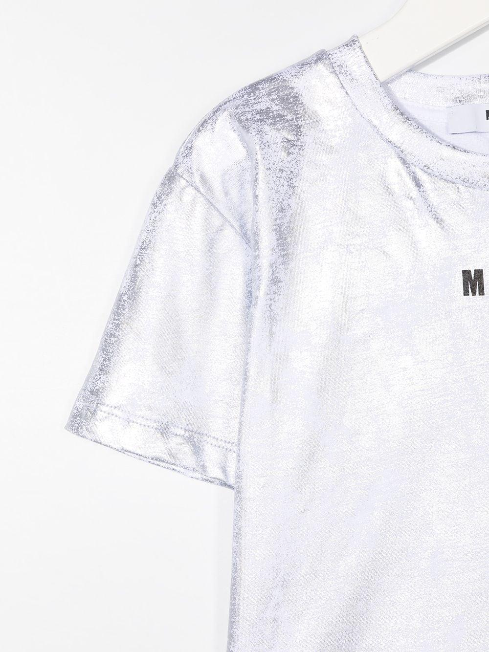 T-SHIRT ARGENTO MSGM kids | T-shirt | 025307122#