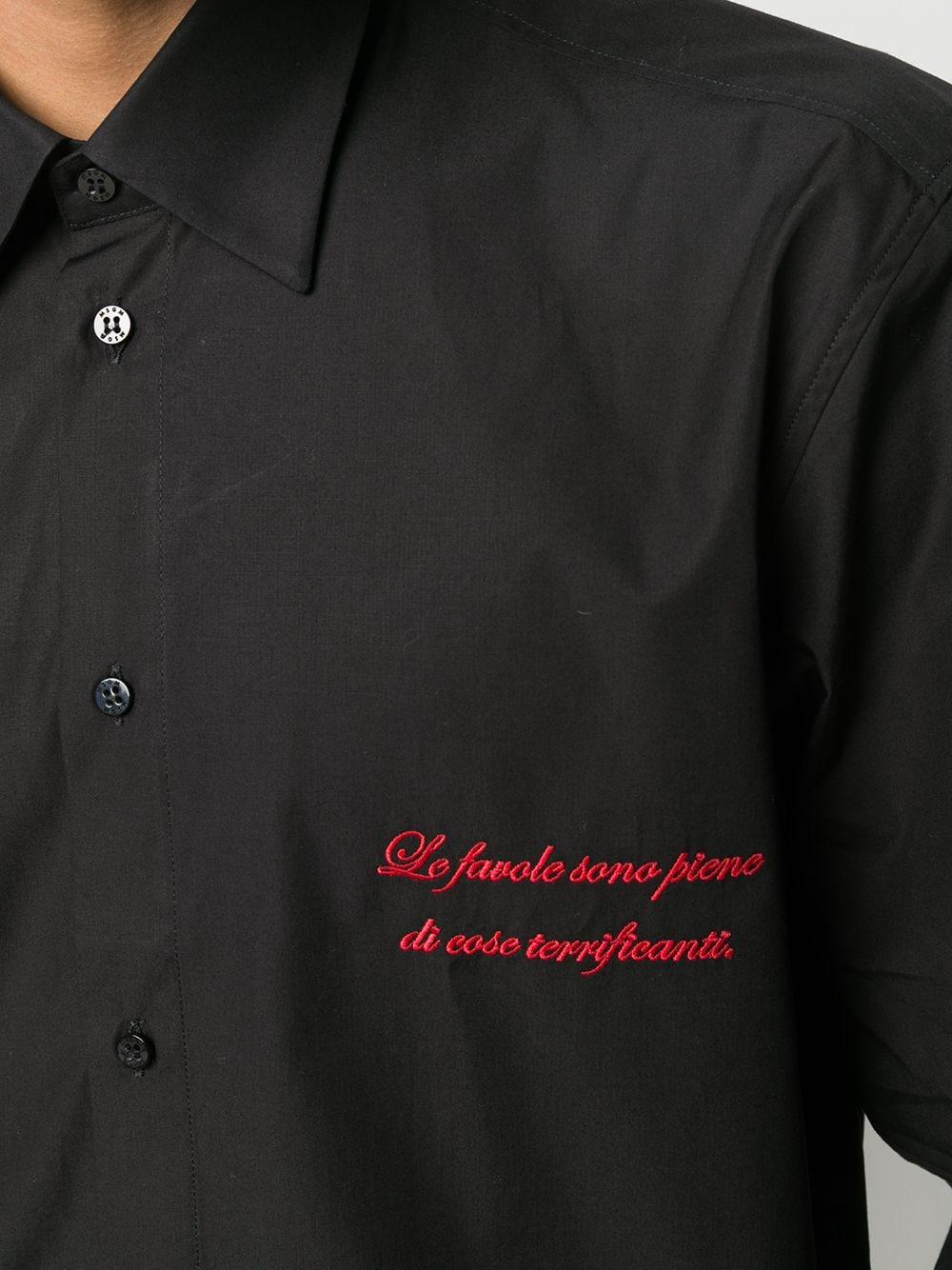 CAMICIA NERA MSGM | Camicia | 2940ME15CX20750199