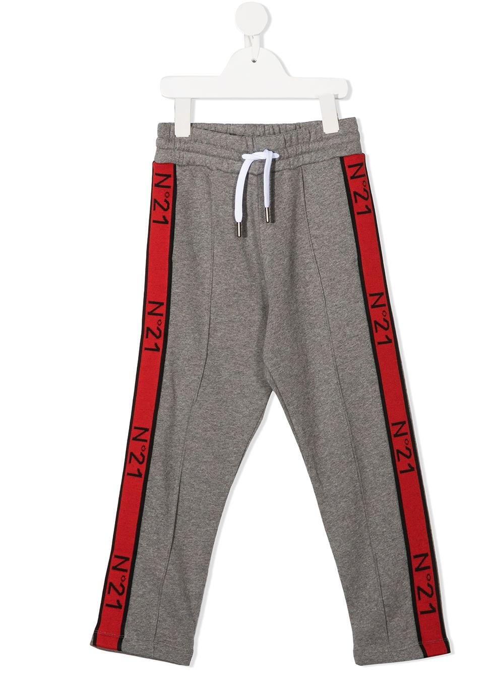 PANTALONE GRIGIO N°21 KIDS   Pantalone   N214CWN0079N21P55MN901#