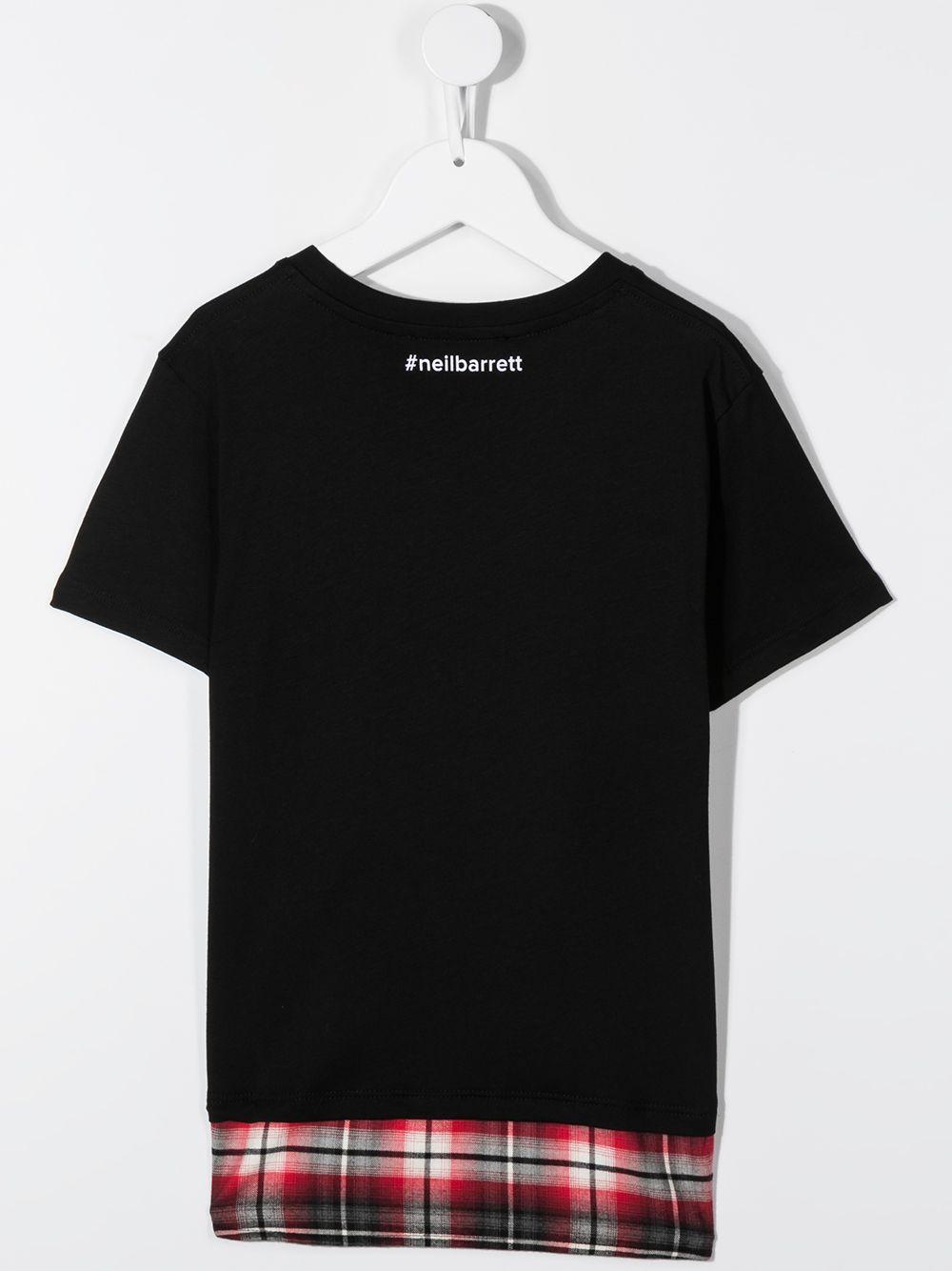 maglia nera NEIL BARRETT KIDS | T-shirt | 026025110#