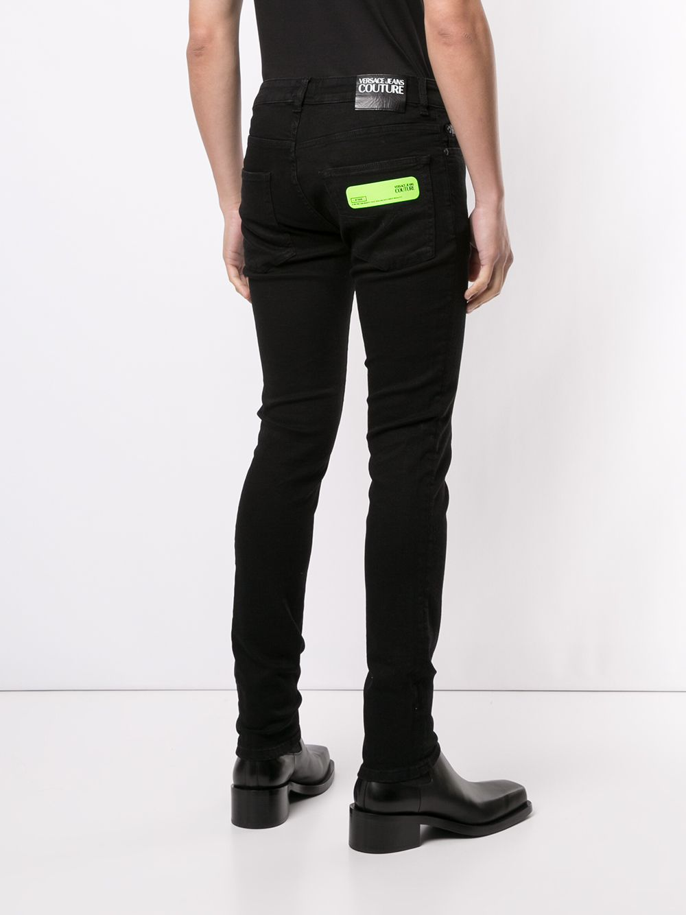 JEANS NERO VERSACE JEANS COUTURE | Pantalone | A2.GZA0K8.60366899