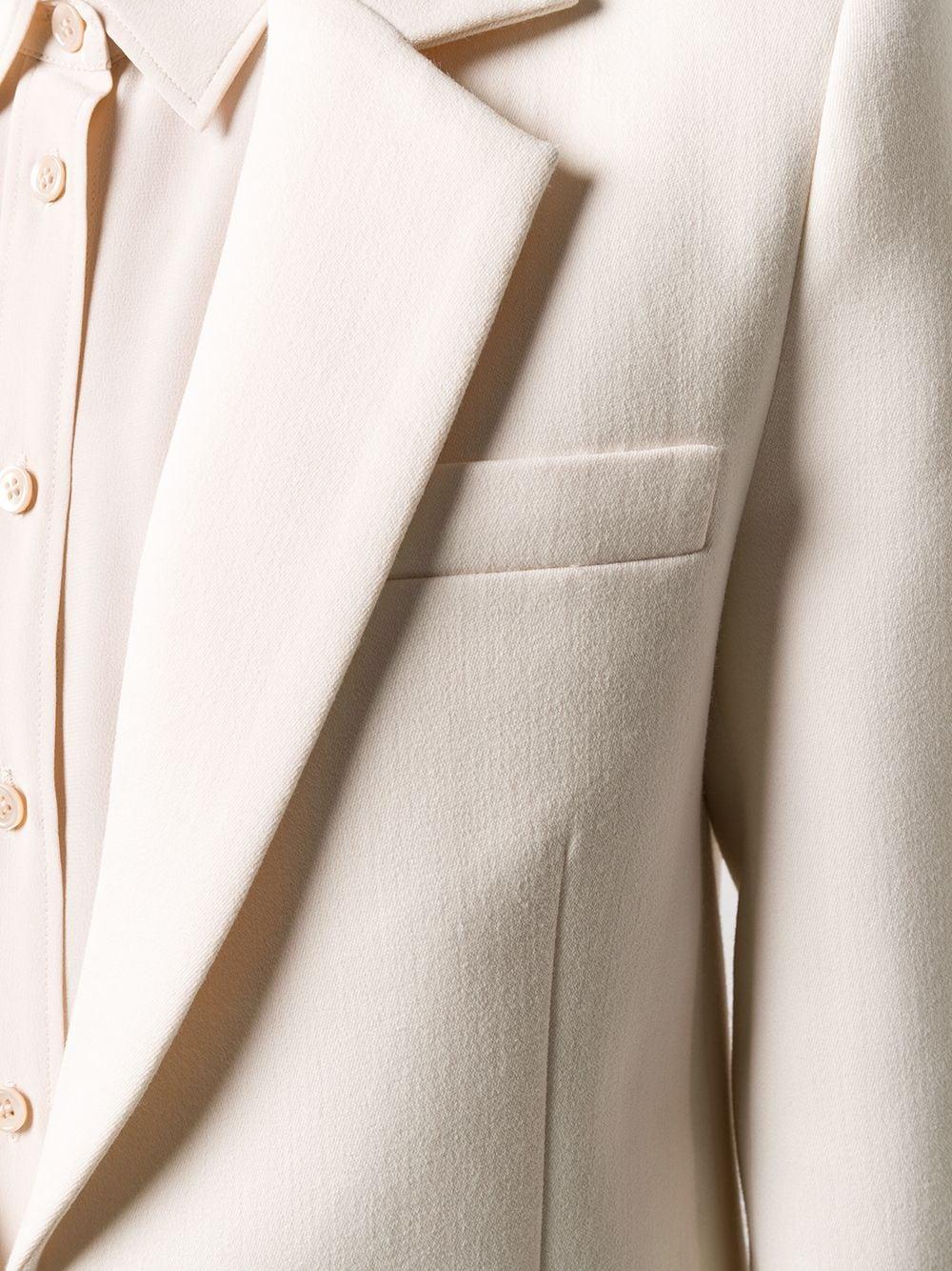 giacca bianca VICTORIA BECKHAM | Giacca | 2320WJK001485ACREAM