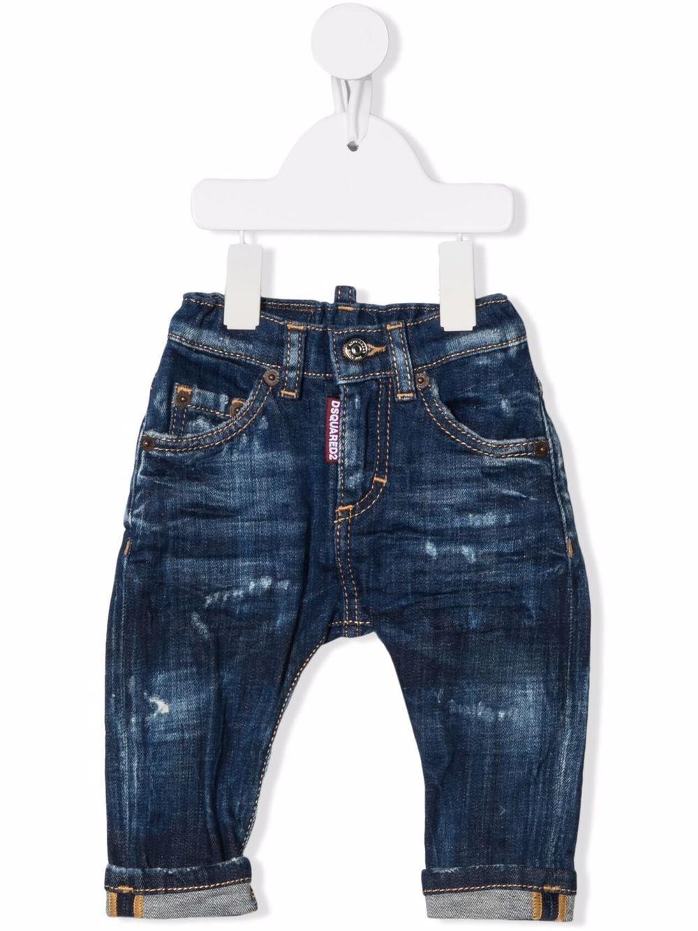 DISTRESSED DENIM DSQUARED KIDS | Jeans | D2P76ABDQ01TCD007NDQ01