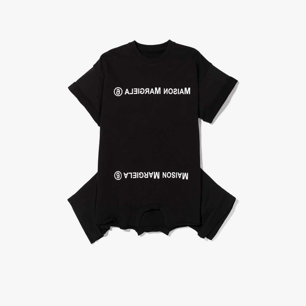 DOUBLE TEE DRESS MM6 MAISON MARGIELA |  | MM6D3UM60023MM007M6900#