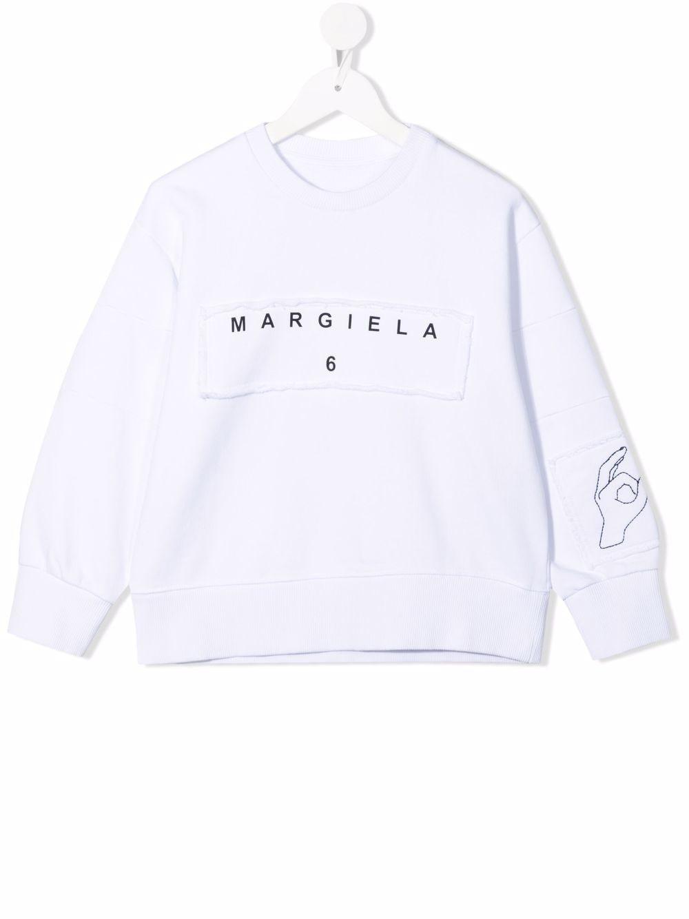 FELPA MM6 MAISON MARGIELA | Felpa | MM6S11UM60027MM008M6100#