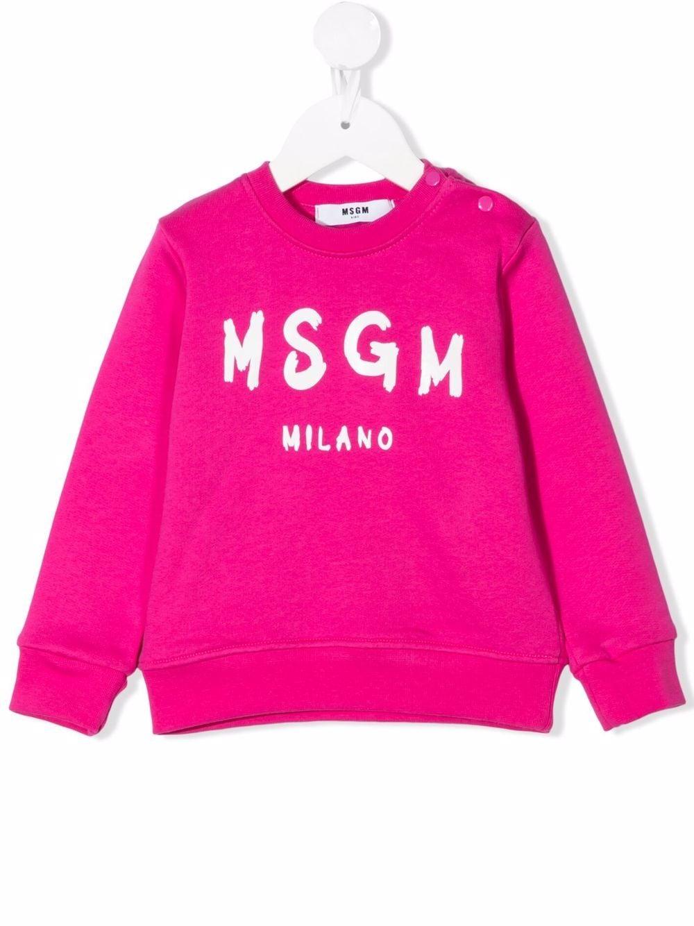 FELPA LOGO MSGM kids | Felpa | MS027872044