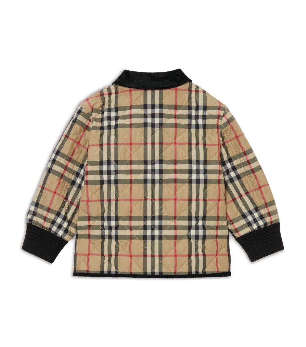 giacca check BURBERRY KIDS | Giubbino | 8022107A7026