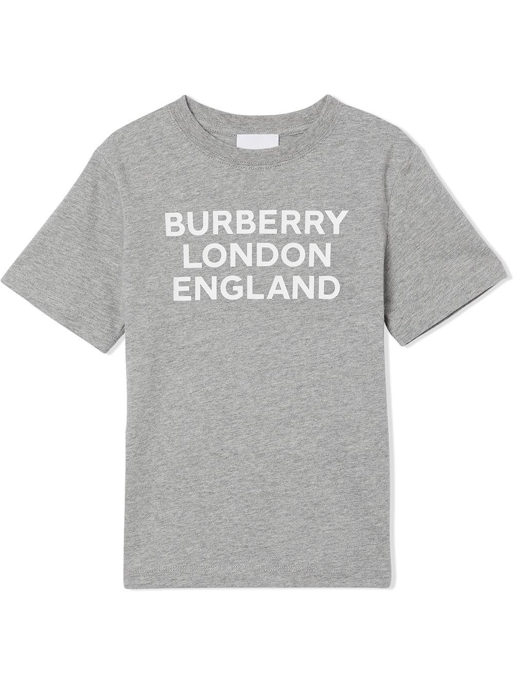 t-shirt grigia BURBERRY KIDS | T-shirt | 8028807A1216#