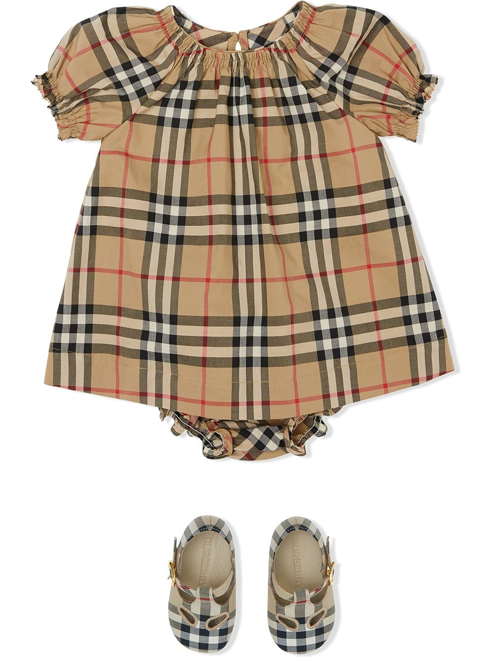 CHEMISIER CHECK BURBERRY KIDS | Abito | 8036601A7028