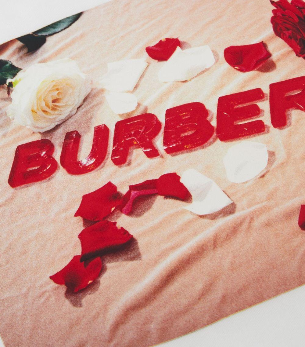 maglia bianca BURBERRY KIDS   T-shirt   8036910A1464#
