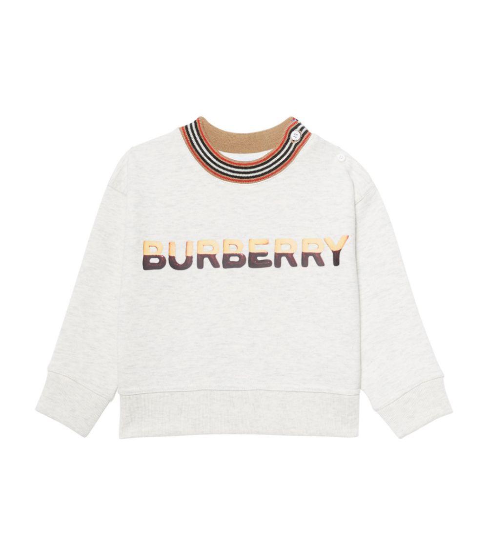 felpa beige BURBERRY KIDS   Felpa   8036934A4807