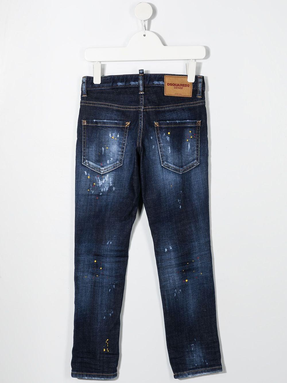JEANS BLU SCURO DSQUARED KIDS | Jeans | D2P110UDQ01Q3D005ADQ01#