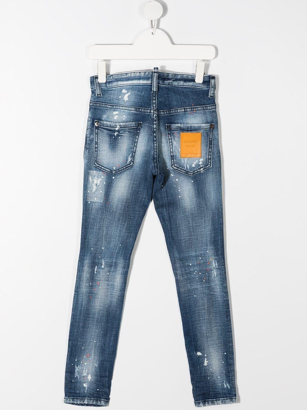 JEANS CHIARO DSQUARED KIDS   Jeans   D2P118LMDQ03LDD005EDQ01#
