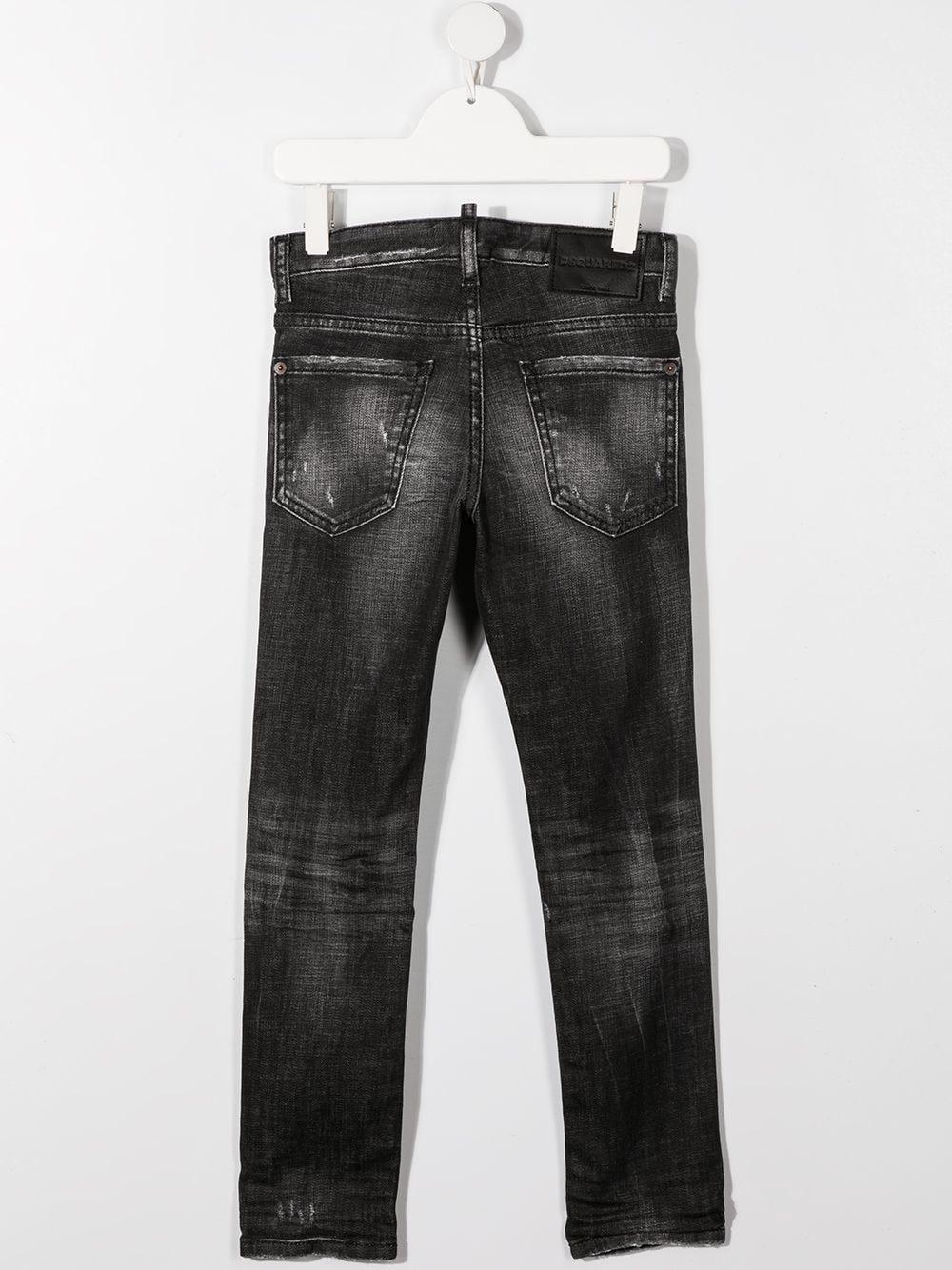 jeans nero DSQUARED KIDS | Jeans | D2P31BLVMDQ0234D004ZDQ02#