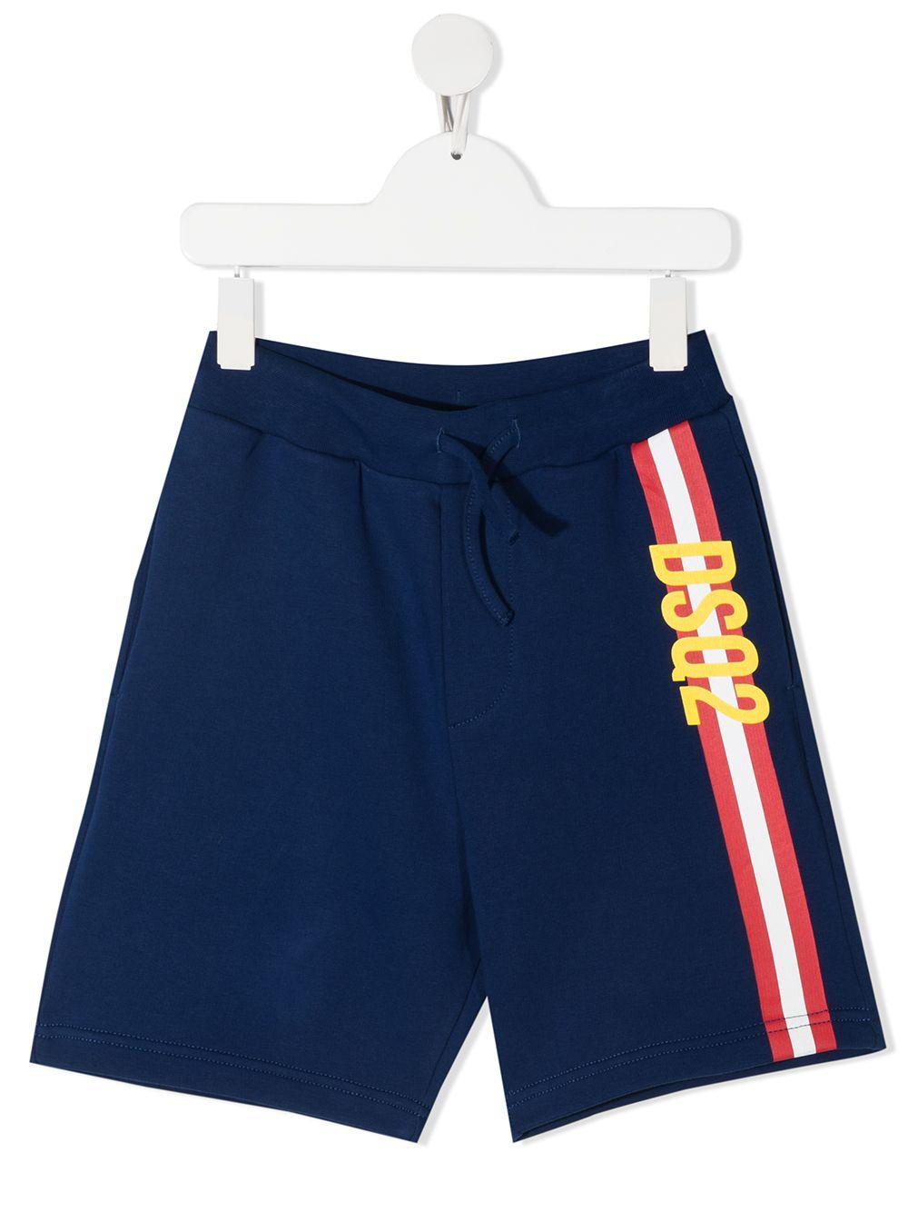 short blu DSQUARED KIDS | Shorts | D2P329MDQ0121D00J7DQ865#