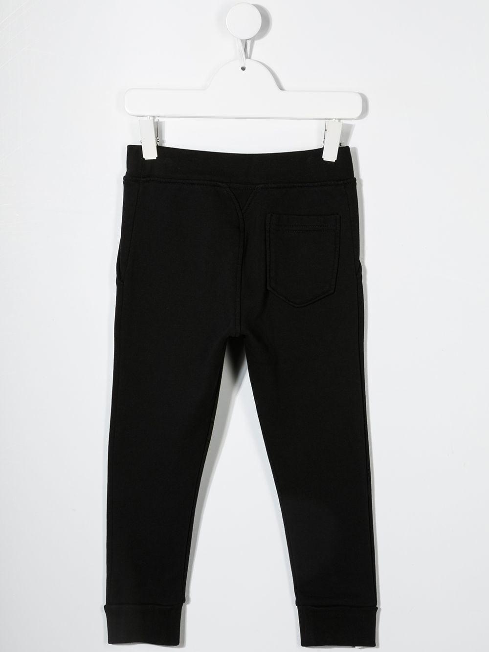 pantalone nero DSQUARED KIDS | Pantalone | D2P354UDQ0248D002YDQ900#