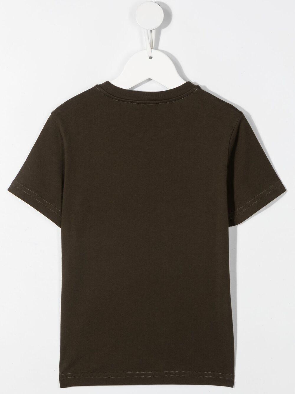 T-shirt fango DSQUARED KIDS   T-shirt   D2T621MDQ0149D002FDQ514#