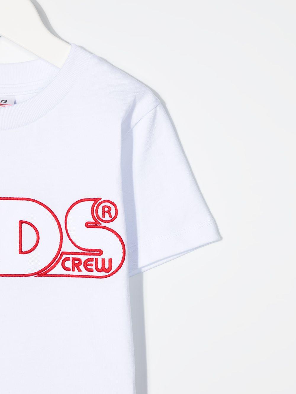 t-shirt bianca GCDS KIDS   T-shirt   027591001#