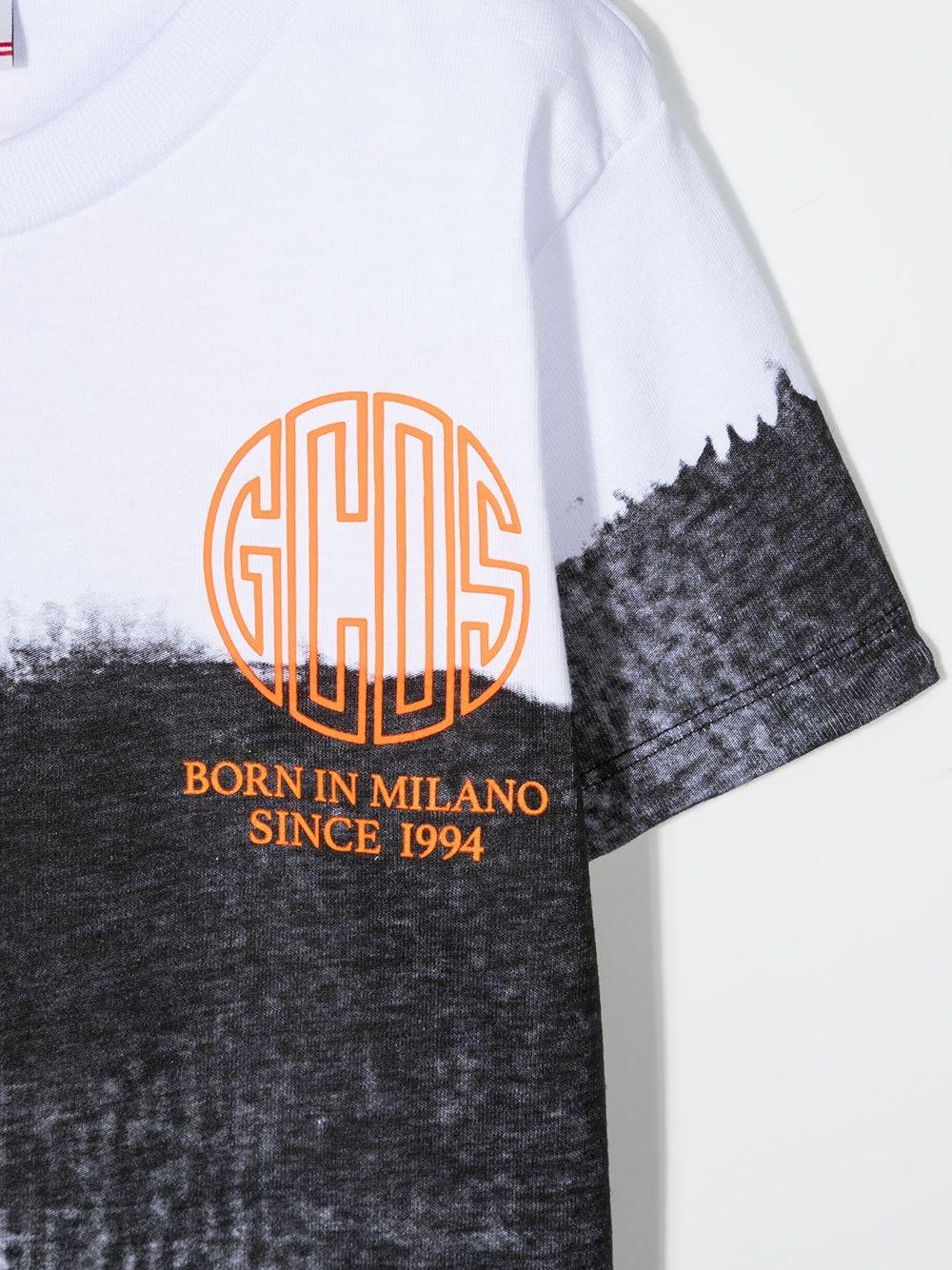 t-shirt bianca GCDS KIDS | T-shirt | 027619110#