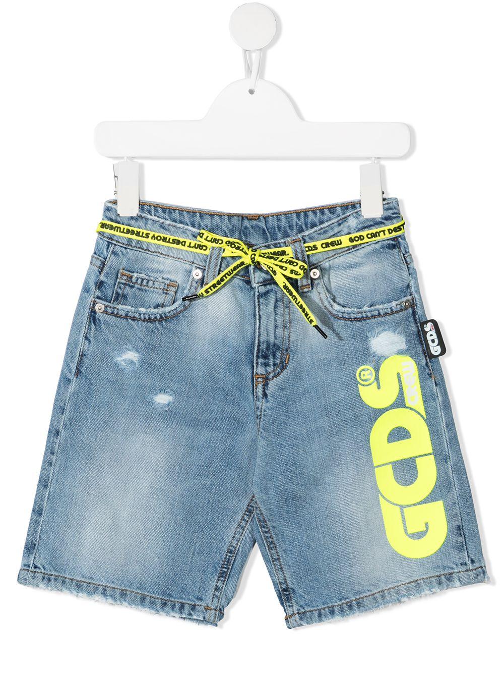 short denim GCDS KIDS | Shorts | 027632200#
