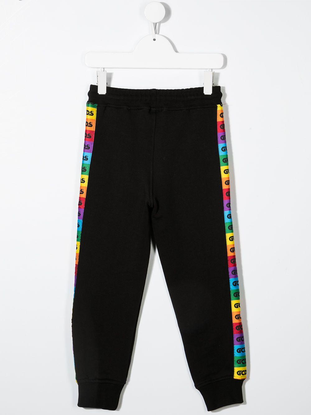 pantalone nero GCDS KIDS   Pantalone   027652110#