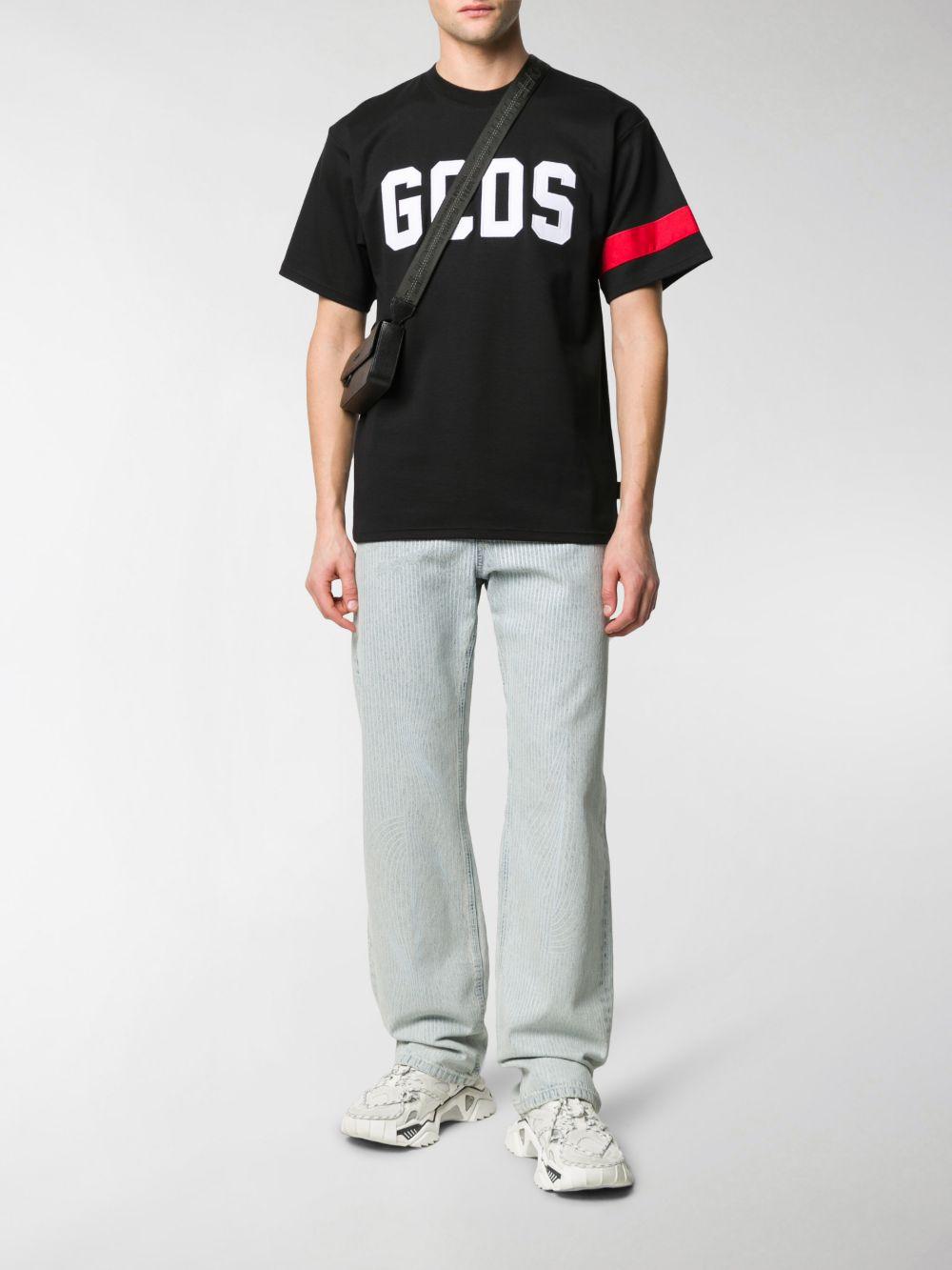 MAGLIA NERA GCDS   T-shirt   CC94M021004BLACK