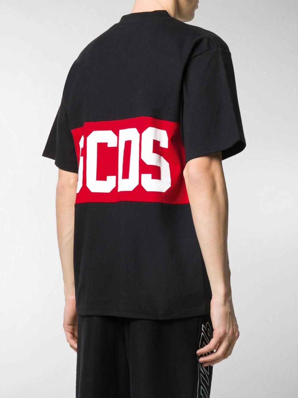 MAGLIA NERA GCDS | T-shirt | CC94M021014BLACK