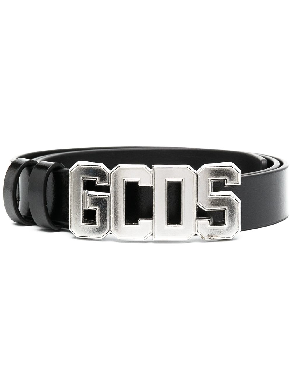 CINTURA NERA GCDS | Cintura | SS21M010054SILVER