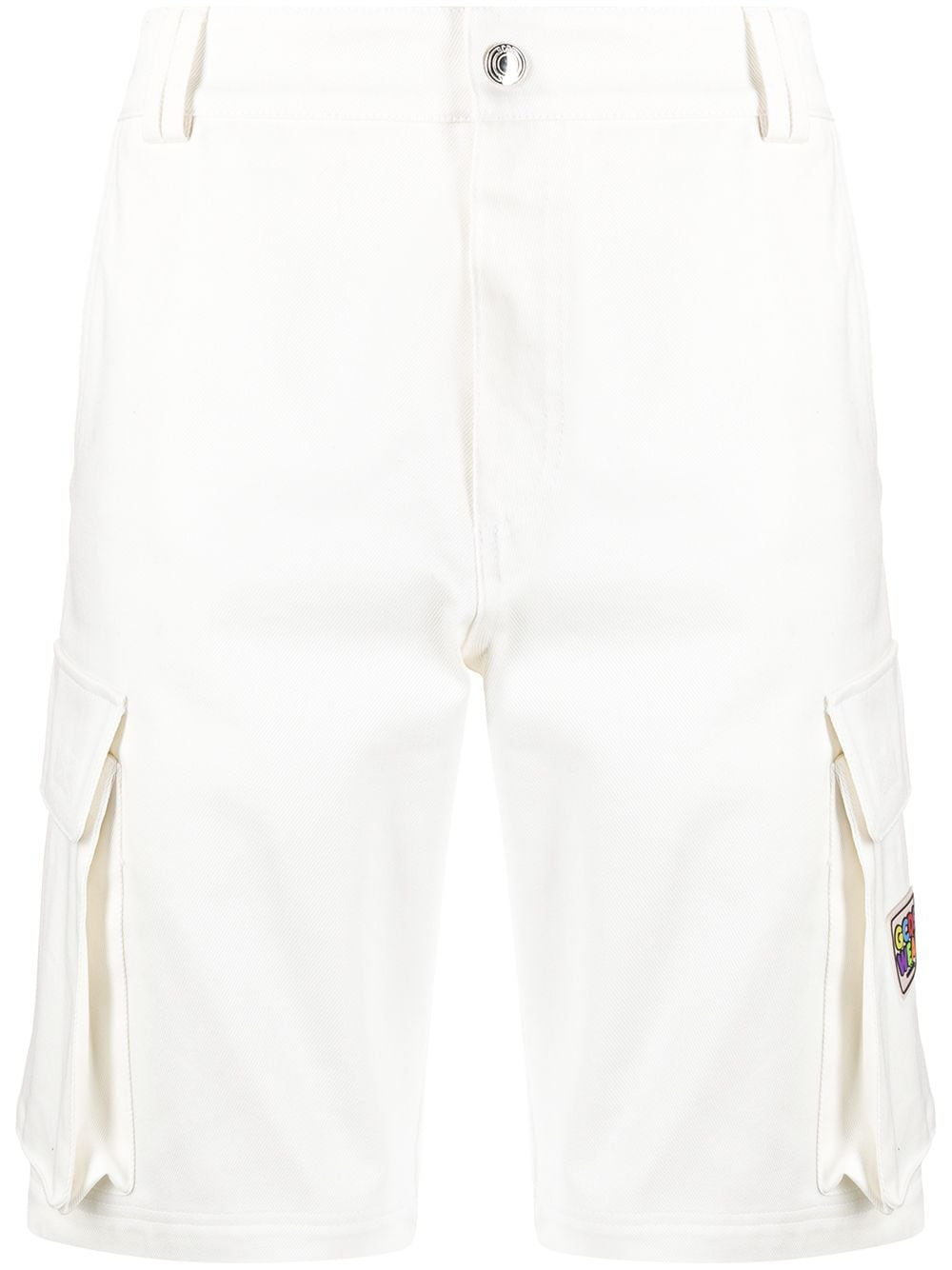 BERMUDA TASCONI GCDS   Shorts   SS21M030104WHITE