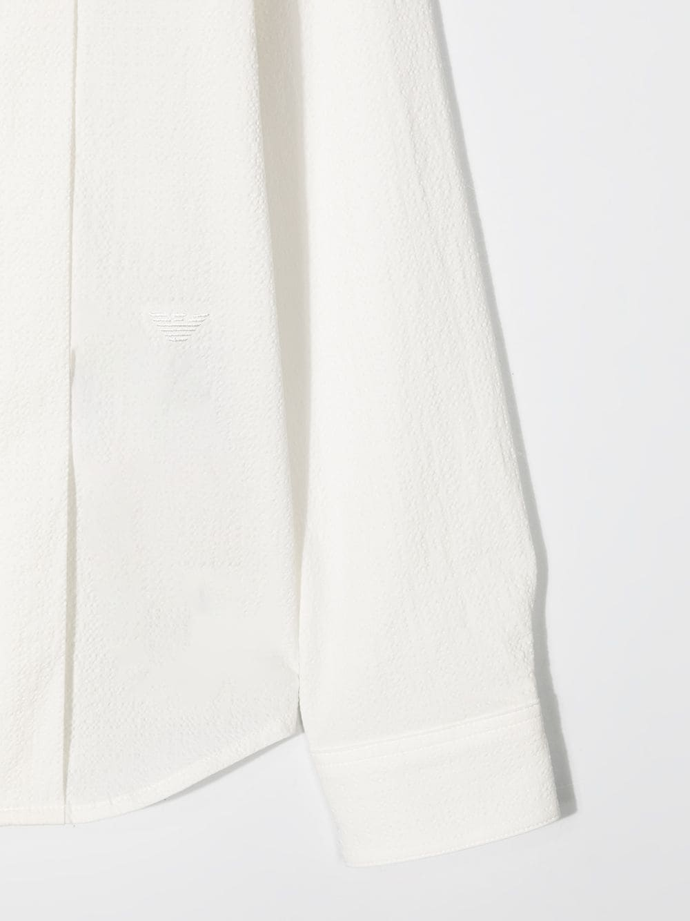 camicia bianca GIORGIO ARMANI KIDS | Camicia | 3K4CJ64N520101#