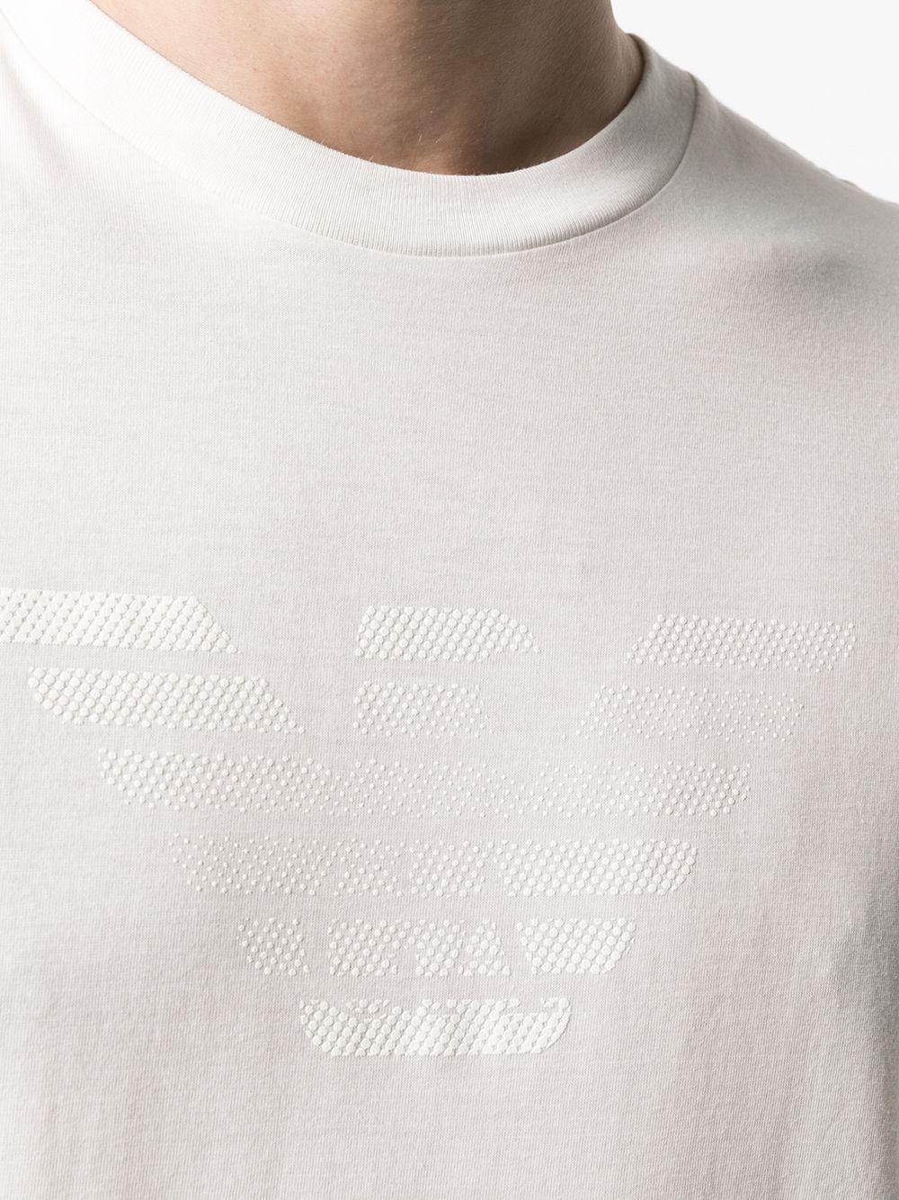 t-shirt bianca GIORGIO ARMANI | T-shirt | 3K1TE61JSHZ0101