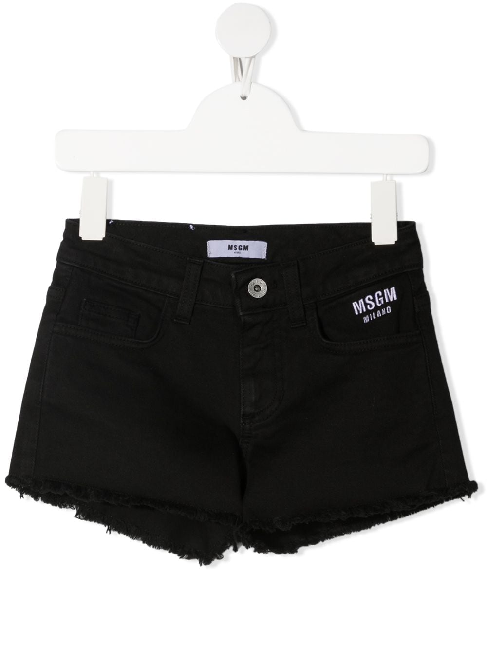SHORT NERO MSGM kids | Pantalone | MS026810110#