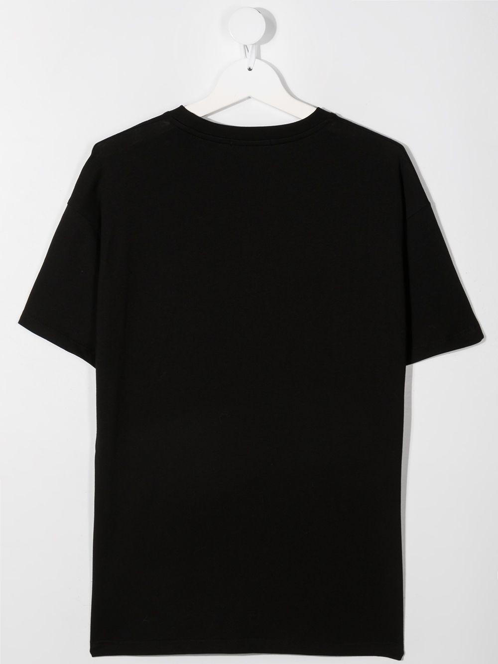 MAGLIA NERA MSGM kids | T-shirt | MS027629110##