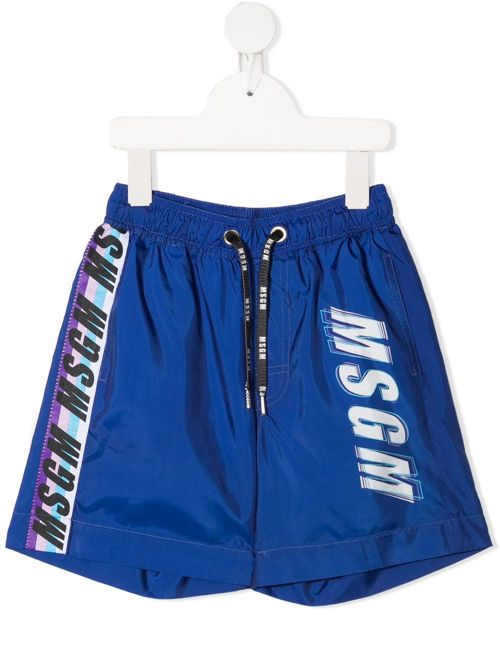 costume blu MSGM kids | Bermuda | MS027662130#