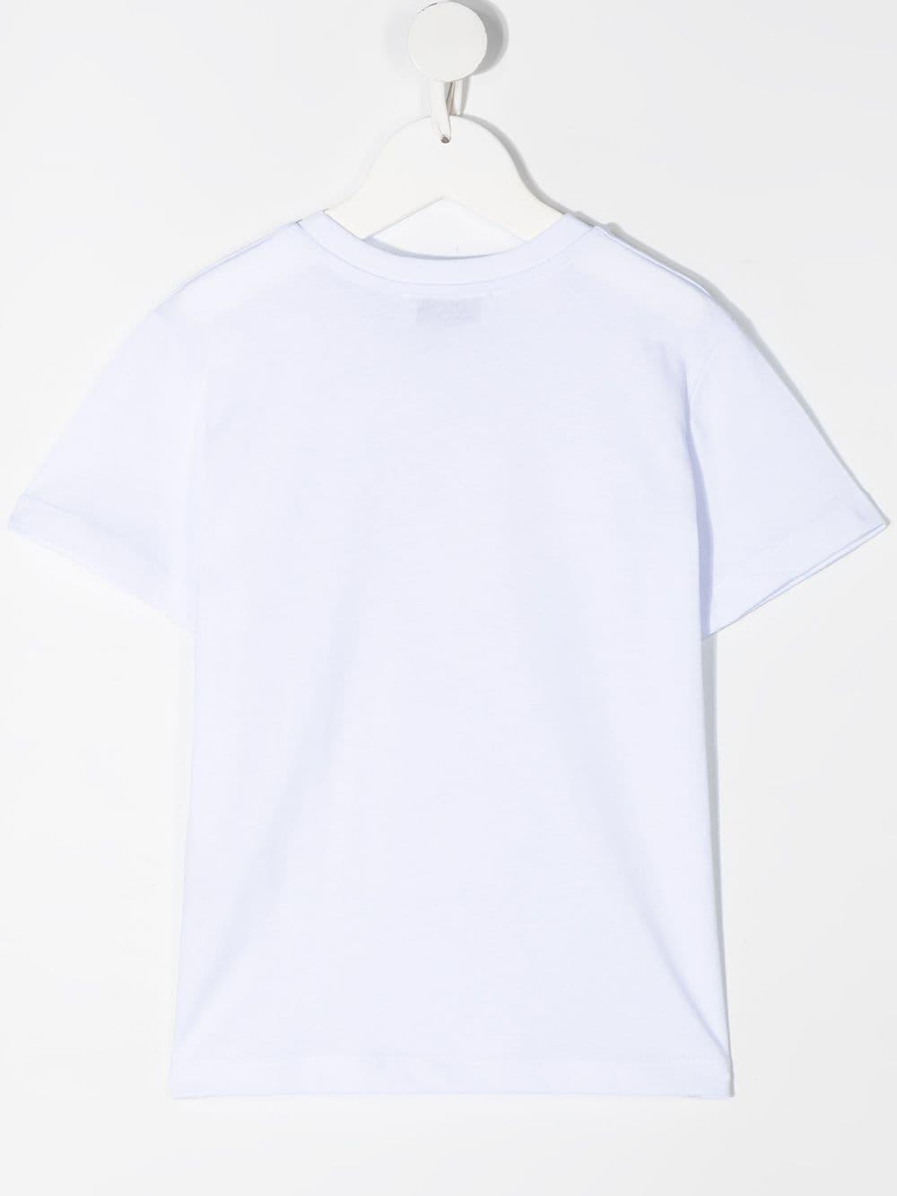 maglia bianca NEIL BARRETT KIDS | T-shirt | 027880001#