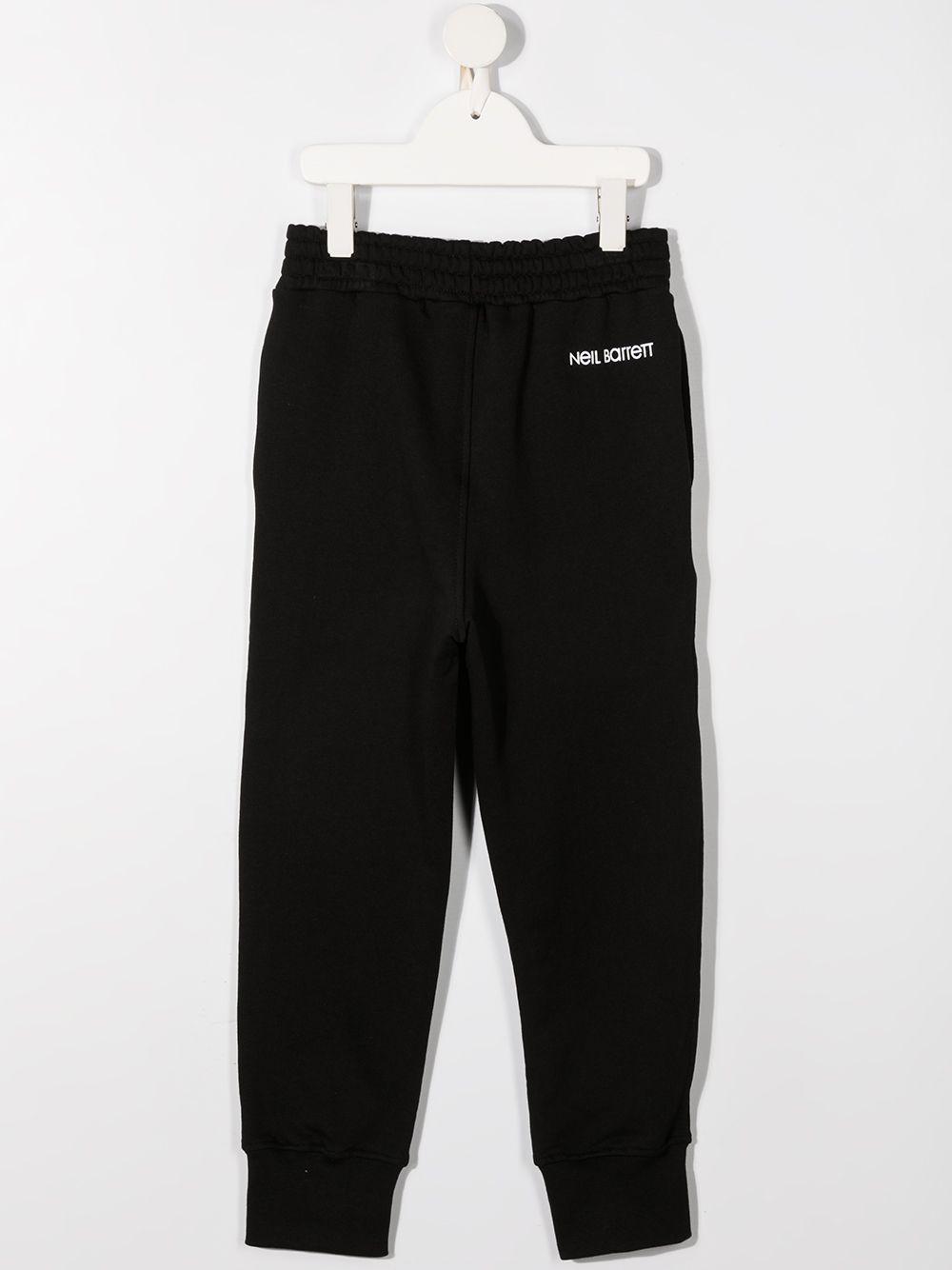 pantalone nero NEIL BARRETT KIDS | Pantalone | 027887110#