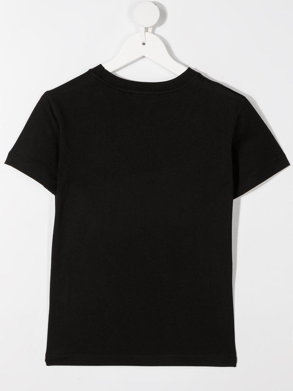 maglia nera NEIL BARRETT KIDS | T-shirt | 027896110#