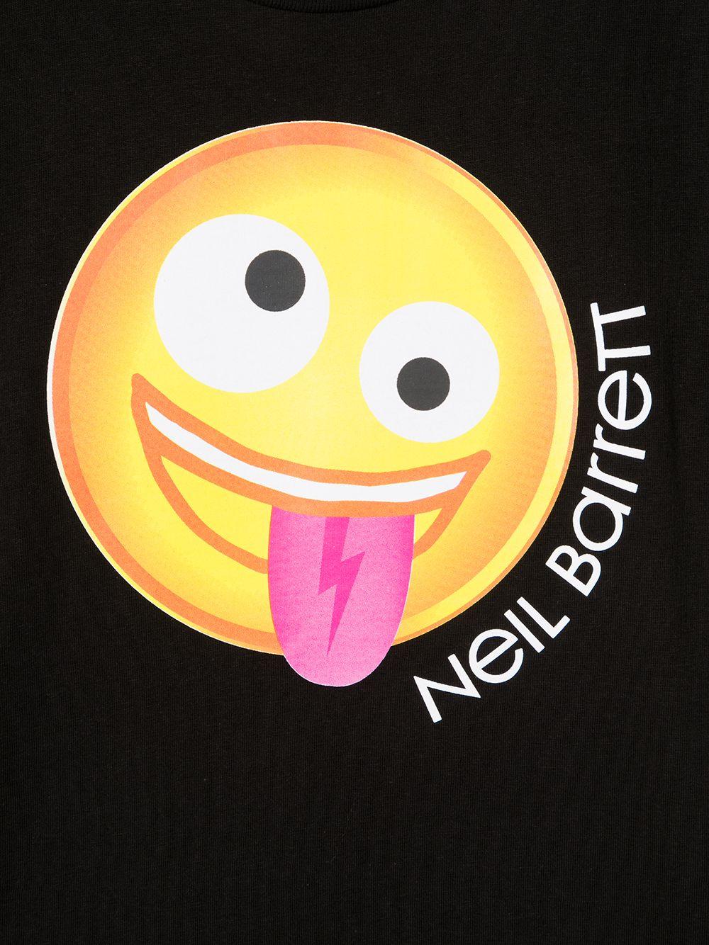 maglia nera NEIL BARRETT KIDS | T-shirt | 027900110#