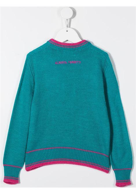 maglione turchese ALBERTA FERRETTI KIDS | Maglia | 025416051#