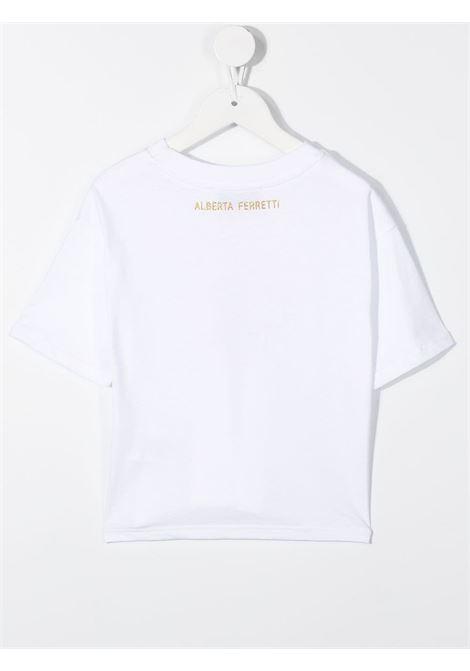 t-shirt bianca ALBERTA FERRETTI KIDS | T-shirt | 026143002#