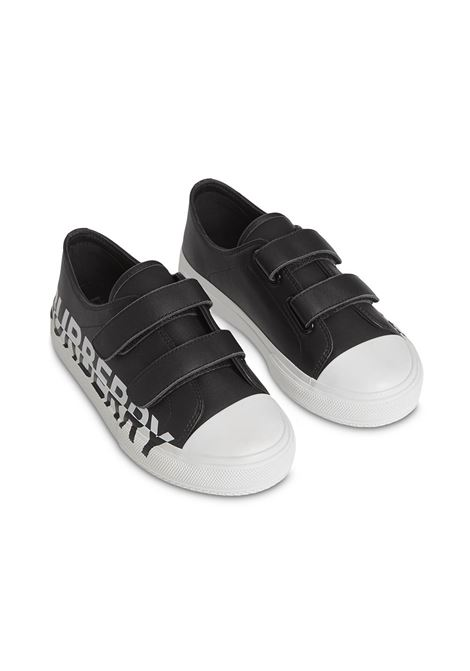 SNEAKERS NERA BURBERRY KIDS | Scarpe | 8015336A1189