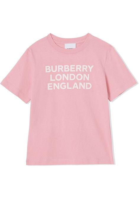 MAGLIA ROSA BURBERRY KIDS | T-shirt | 8028810A3245#