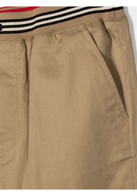 PANTALONE BEIGE BURBERRY KIDS | Pantalone | 8030128A1366##