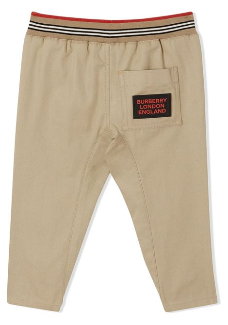 PANTALONE BEIGE BURBERRY KIDS | Pantalone | 8030129A1366