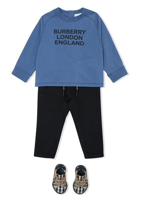 PANTALONE NERO BURBERRY KIDS | Pantalone | 8030130A1189