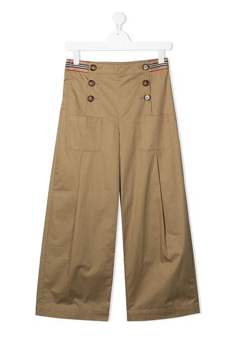 PANTALONE BEIGE BURBERRY KIDS | Pantalone | 8030320A1366##