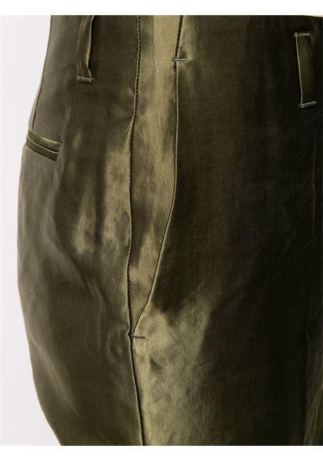 PANTALONE VERDE DRIES VAN NOTEN | Pantalone | PAOLA1354KAKI