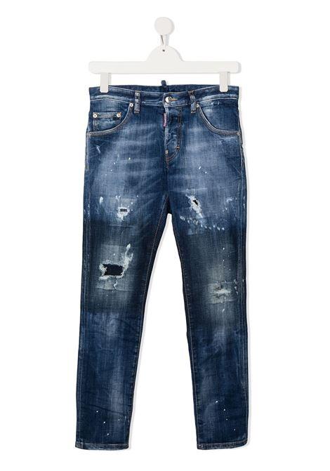 JEANS BLU DSQUARED KIDS | Pantalone | DQ01PWD001RD2P31VMDQ01##