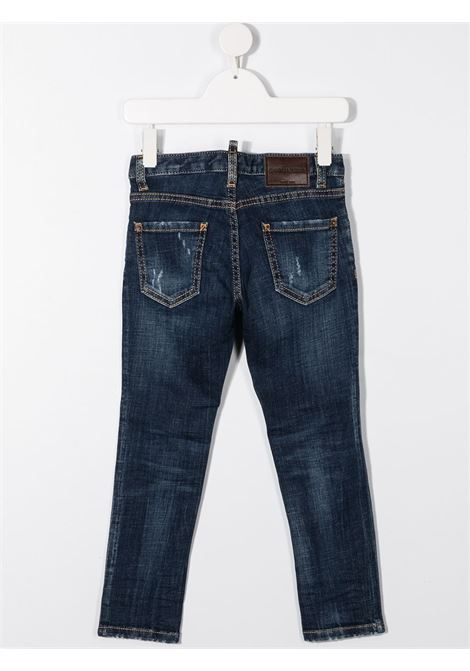 JEANS BLU DSQUARED KIDS | Pantalone | DQ01PXD001JD2P43VFDQ01#