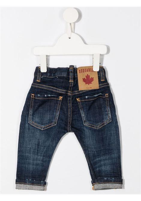 JEANS BLU DSQUARED KIDS | Pantalone | DQ01TCD001VD2P76ABDQ01